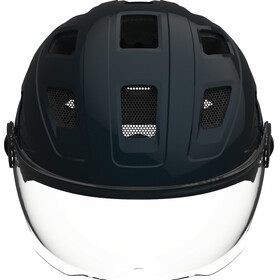 ABUS Hyban+ Helmet midnight blue, clear visor